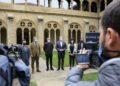 Presentación del programa sobre el aniversario de la vuelta al mundo para este año. Foto: Diputación