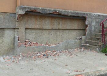 Vandalismo en el colegio Sasoeta. Foto: Ayuntamiento de Lasarte-Oria