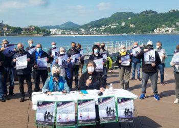 Foto: Movimiento de pensionistas