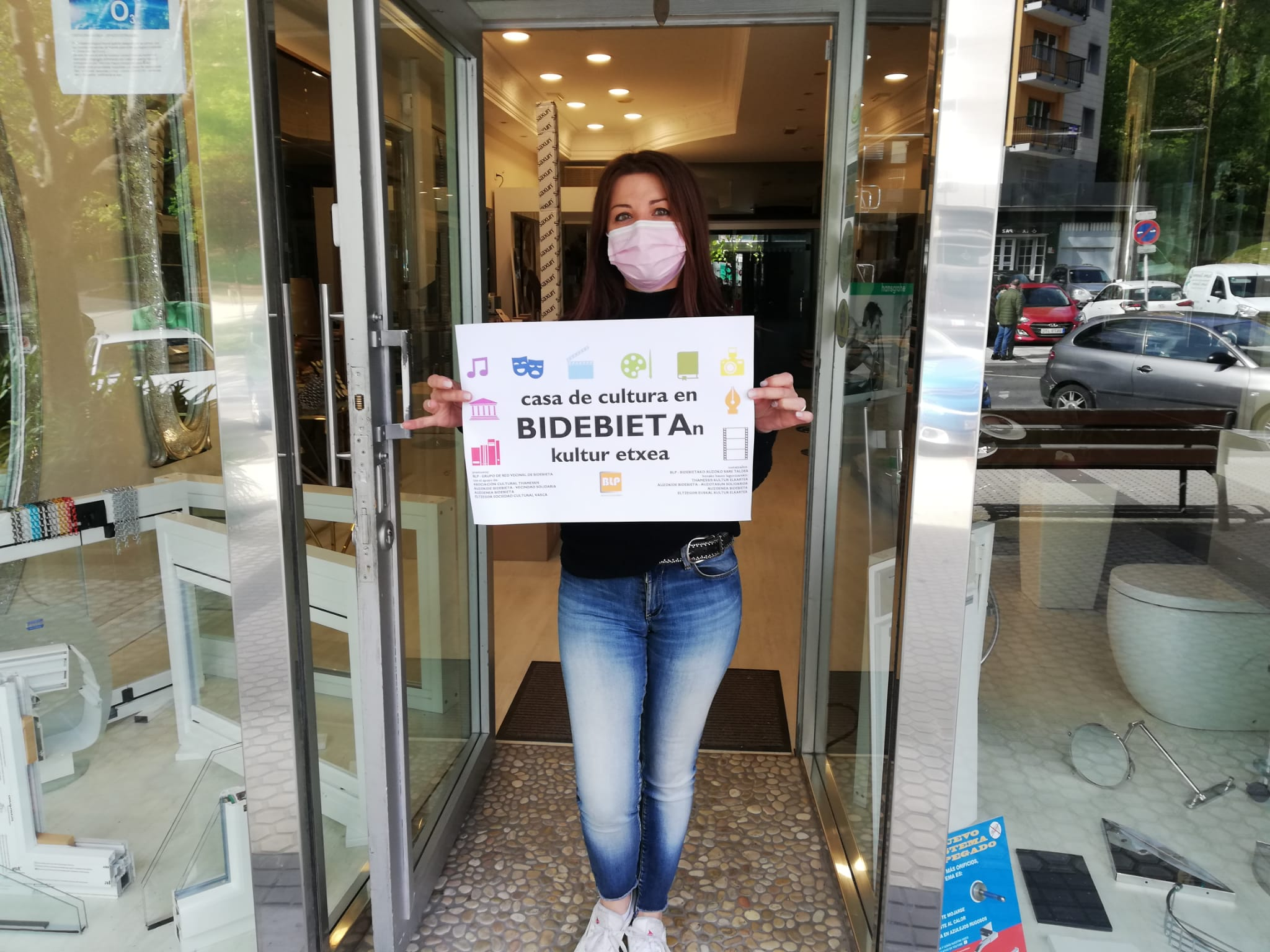 "Cristina Bdebieta - ""Queremos una casa de cultura para Bidebieta, no soluciones a medias"""