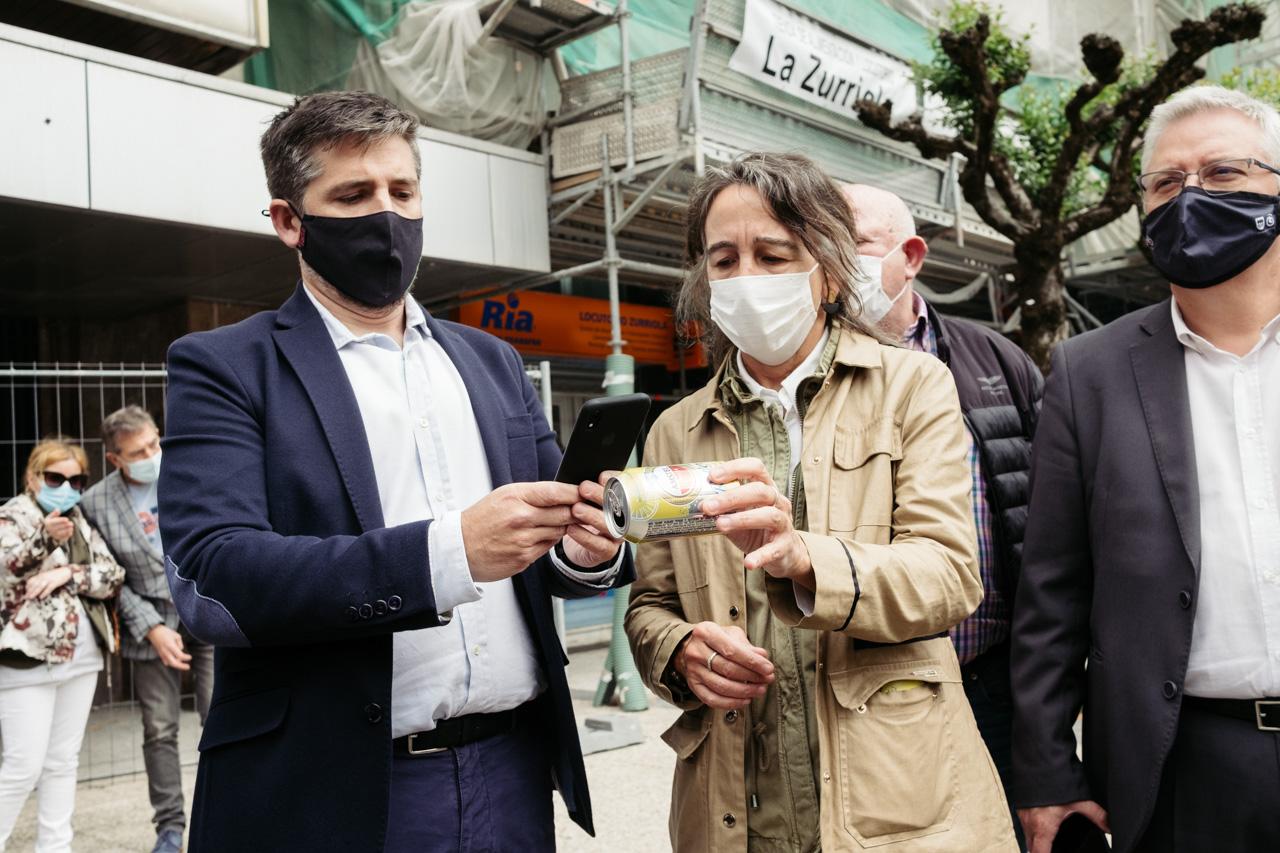 DSCF5975 - Donostia se estrena en RECICLOS con recompensas para los más recicladores