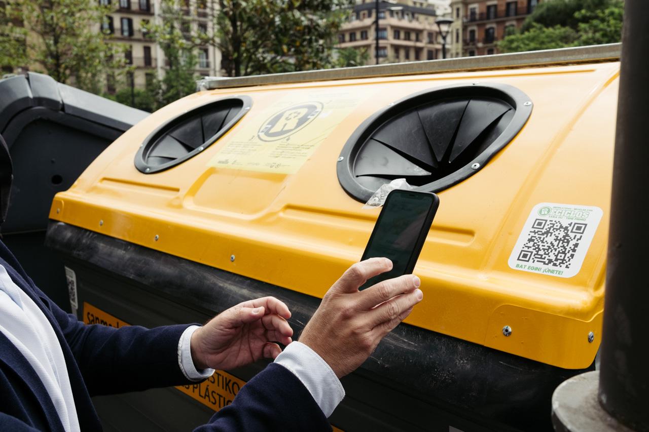 DSCF5984 - Donostia se estrena en RECICLOS con recompensas para los más recicladores