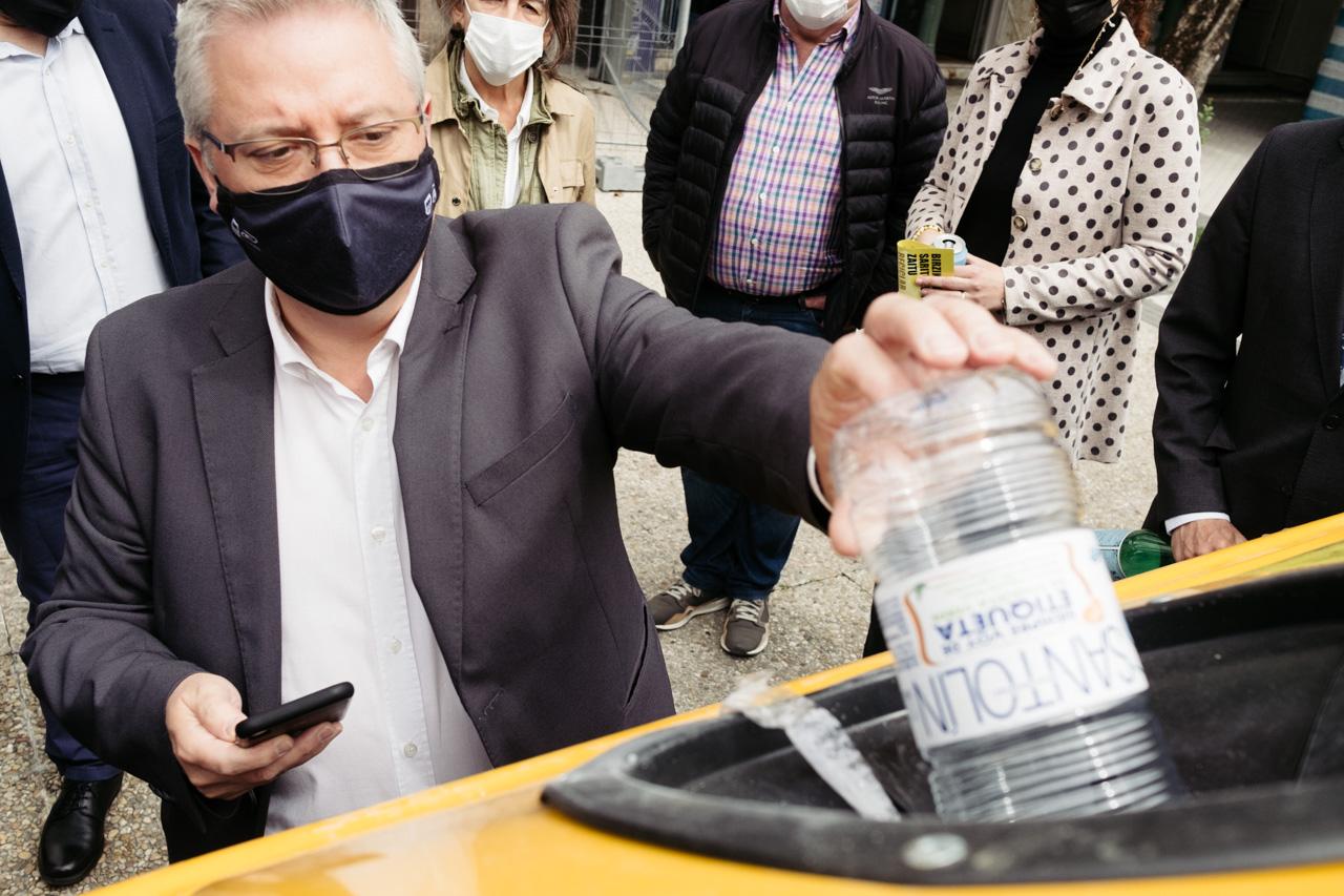 DSCF6024 - Donostia se estrena en RECICLOS con recompensas para los más recicladores