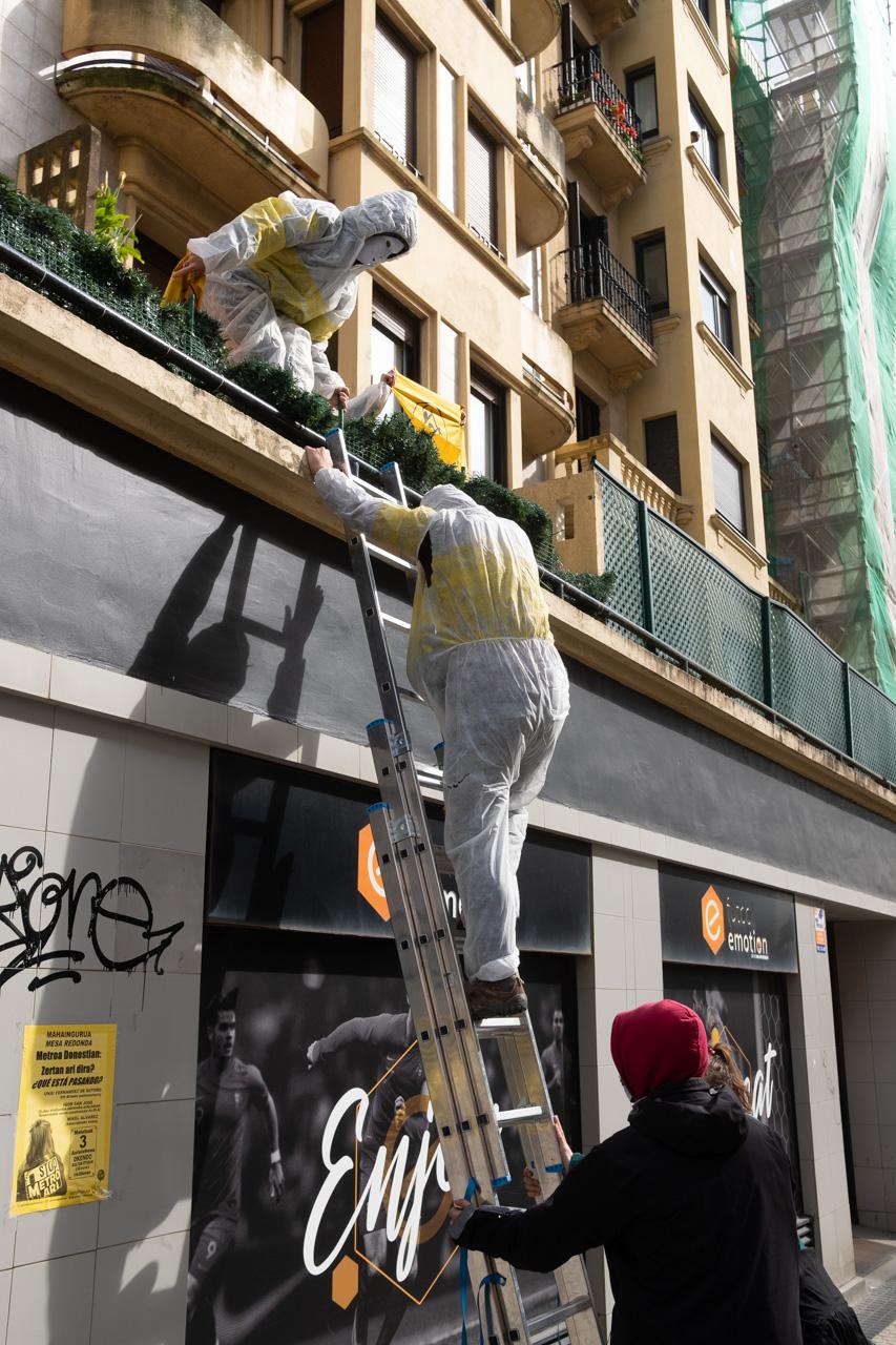 DSCF8884 - Cientos de personas marchan por el derecho a la vivienda en Donostia