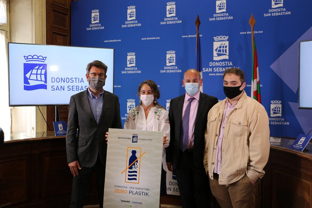Zero plastik2 - 'Zero Plastik' buscará reducir en un 17% el uso de envases en Donostia