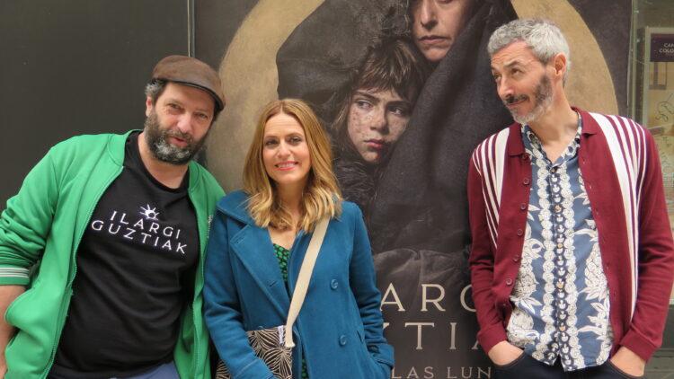 Ilargi Guztiak ya está en los cines. Imagen de parte del elenco.