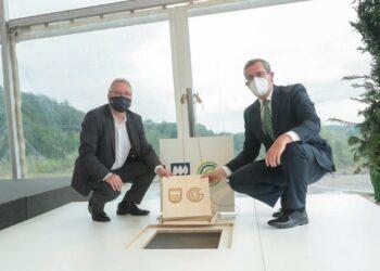 Asensio y Olano. Foto: Diputación
