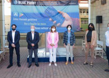 Presentación de Blue Point en Getaria. Foto: Diputación
