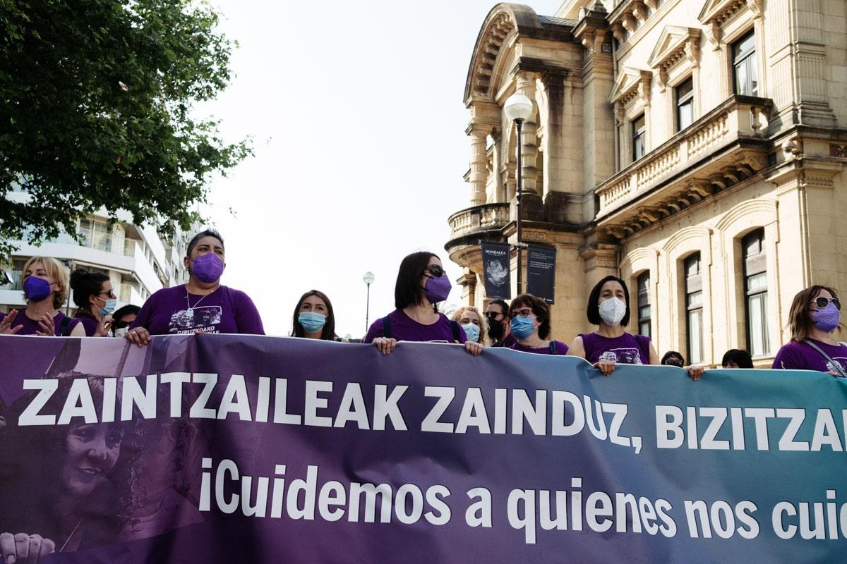 DSCF4526 - 250 días de huelga en las residencias de Gipuzkoa