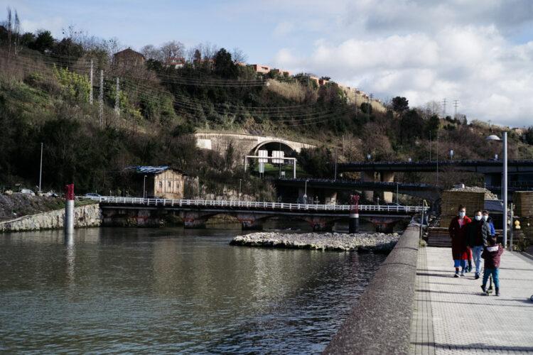 Imagen de febrero del puente de Astiñene. Foto: Santiago Farizano