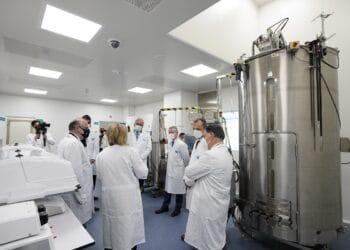 Inauguración de las nuevas instalaciones de Viralgen en Donostia. Foto: Viralgen