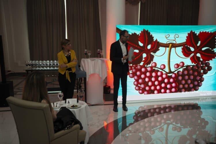 Presentación de Ysios Finca El Nogal en el Hotel María Cristina. Fotos: Ysios