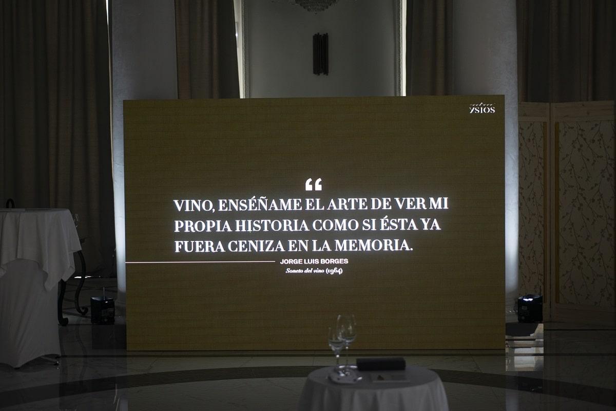 Ysios3 - Ysios Finca El Nogal: Comienza la andadura de un vino singular
