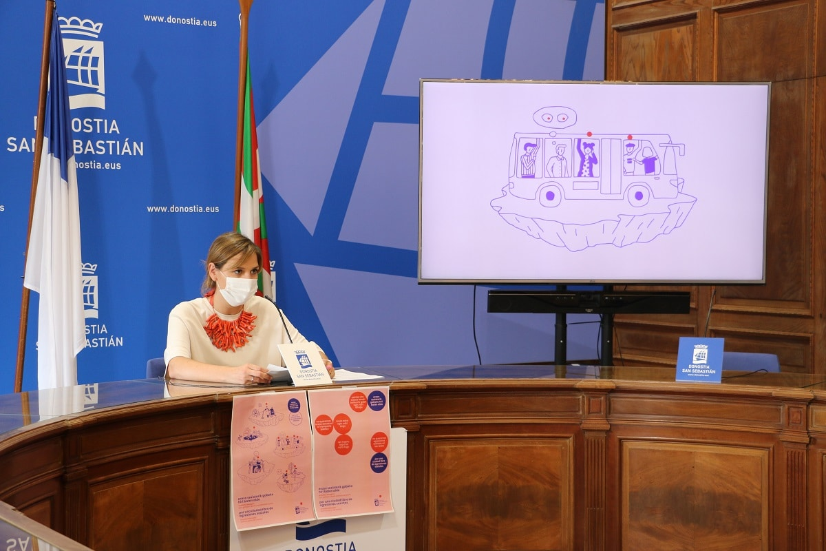 eraso2 - Nueva campaña para prevenir las agresiones sexistas en Donostia