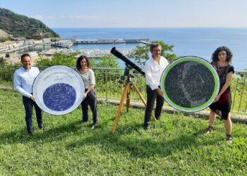 Presentación del planisferio de Aranzadi con Kutxa Fundazioa y Elkano Fundazioa. Foto. Aranzadi