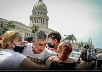 Cuba manifestación