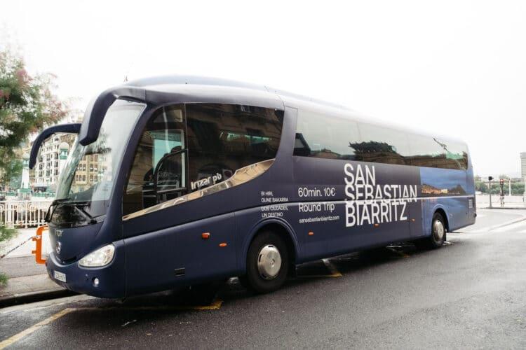 Autobús Donostia-Biarritz a partir del 14 de julio. Fotos: Santiago Farizano