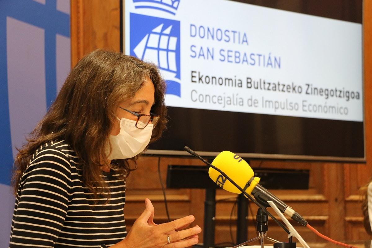 Marisol - 122 comercios cerraron y el PIB cayó un 6,8% el año de la pandemia en Donostia