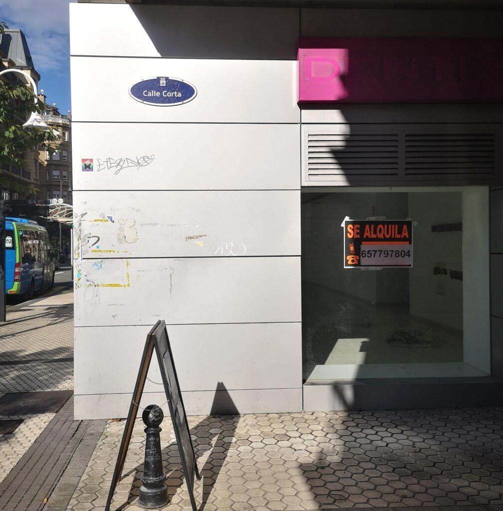 calle corta donostia 1009x1024 - ¿Cuáles son las calles más cortas de Donostia?