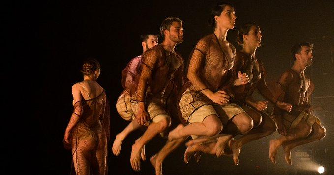 """Dantzaz konpainia estrena este sábado en el Museo Cristóbal Balenciaga su último trabajo, """"Gesala"""". Foto: Dantzaz"""