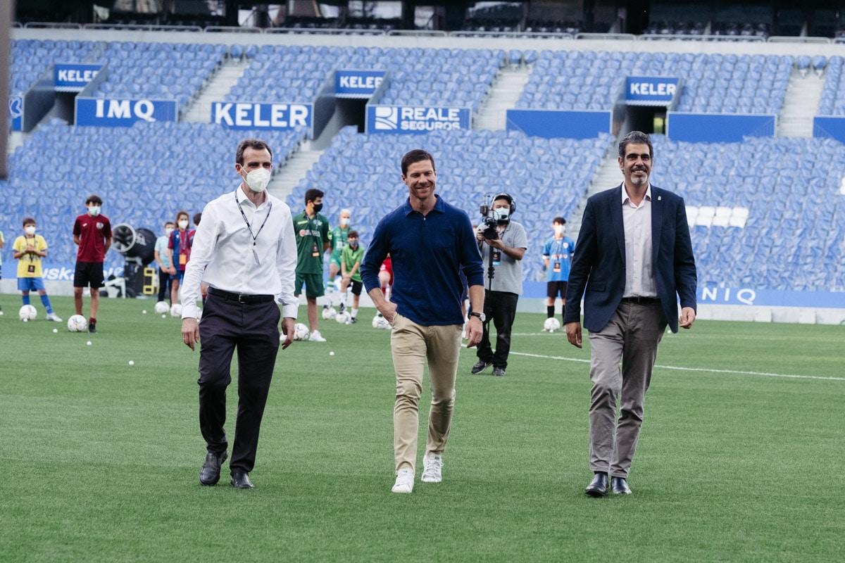 donostitik donosti cup presentacion 09 - Comienza la Donosti Cup con el saludo de Xabi Alonso a los participantes